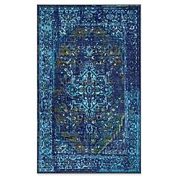nuLOOM Giza Vintage Reiko Rug in Blue