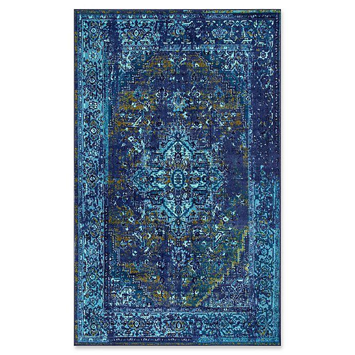 Alternate image 1 for nuLOOM Giza Vintage Reiko Rug in Blue