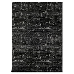 Surya Altena Modern 7-Foot 10-Inch x 10-Foot 2-Inch Area Rug in Black