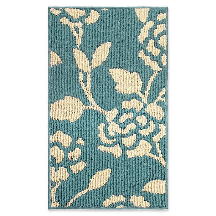 Alternate image 1 for Jean Pierre Sofia 2-Foot 4-Inch x 4-Foot Berber Rug in Blue Lagoon/Grey