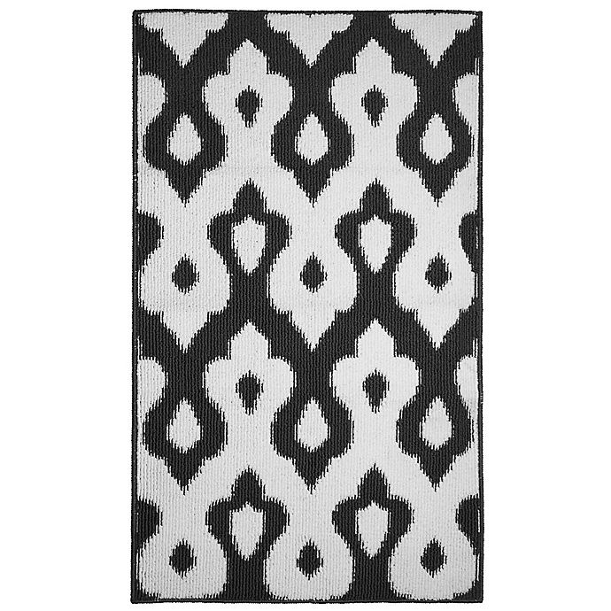 Alternate image 1 for Caravello 2-Foot 4-Inch x 4-Foot Accent Rug in Grey/White