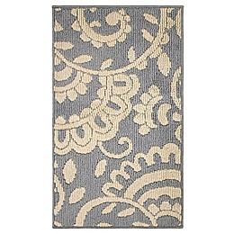 Adele Loop Rug 1-Foot 6-inch x 2-Foot 8-inch Accent Rug in Grey