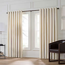 Valeron Stradivari Room Darkening Double Width Window Curtain Panel