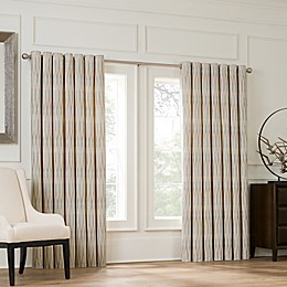 Valeron Lustre Grommet Top Double Wide Window Curtain Panel