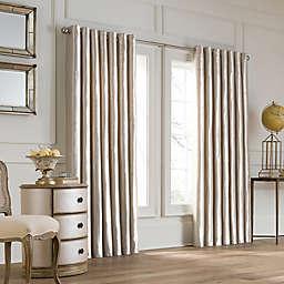 Valeron Lustre Grommet Top Double Width Window Curtain Panel
