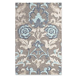 Laura Ashley® Penelope Floral Jacquard Rug in Blue