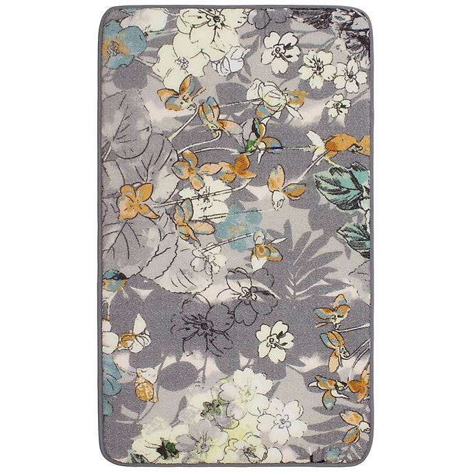 Alternate image 1 for Laura Ashley Ethereal Jersey 1-Foot 8-Inch x 2-Foot 10-Inch Accent Rug in Grey