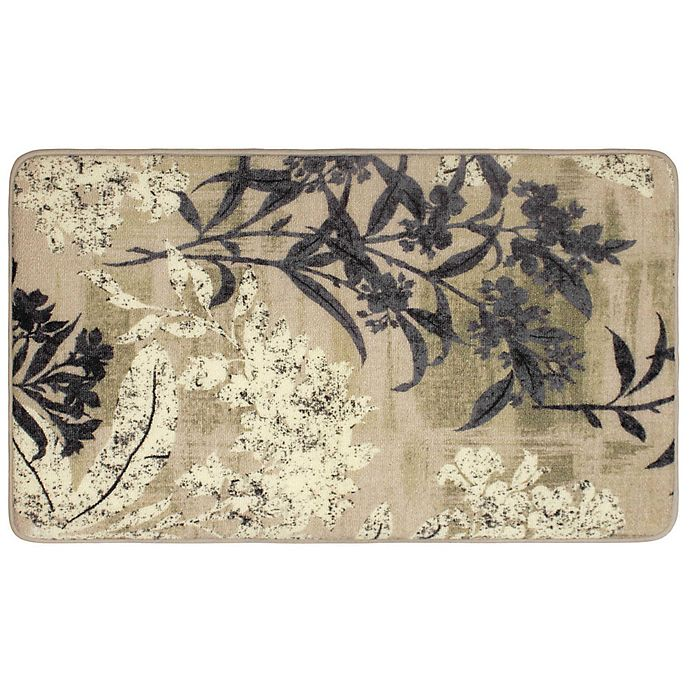 Alternate image 1 for Laura Ashley® Cora 1-Foot 8-Inch x 2-Foot 10-Inch Accent Rug in Taupe