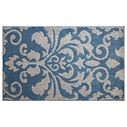 CL Rox 2-Foot 4-Inch x 4-Foot Accent Rug in Blue Lagoon/Grey