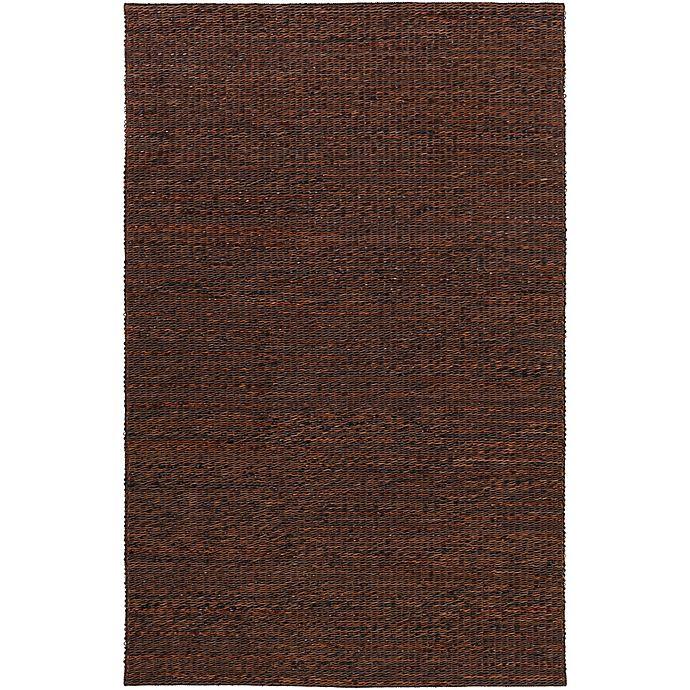 Alternate image 1 for Surya Tescott 8-Foot x 10-Foot Accent Rug in Dark Brown