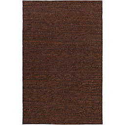 Surya Tescott 8-Foot x 10-Foot Accent Rug in Dark Brown