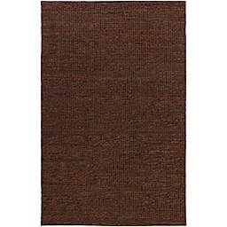 Surya Tescott 8-Foot x 10-Foot Accent Rug in Dark Brown