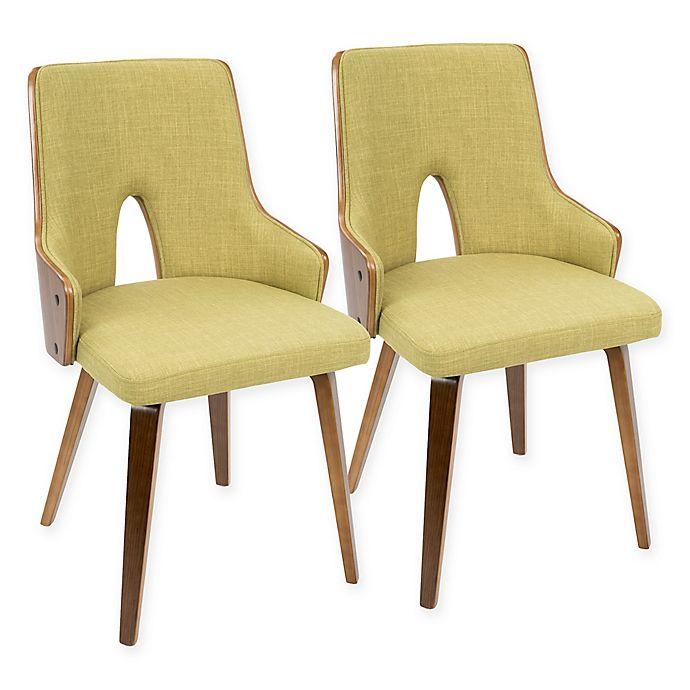 Mid Century Modern Padded Dining Chair