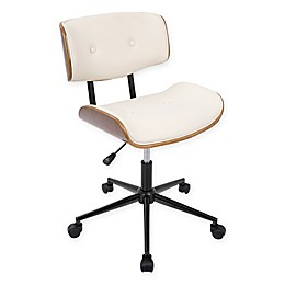 LumiSource Lombardi Mid-Century Modern Office Chair