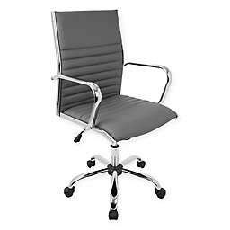 LumiSource® Master Office Chair with Armrests in Grey