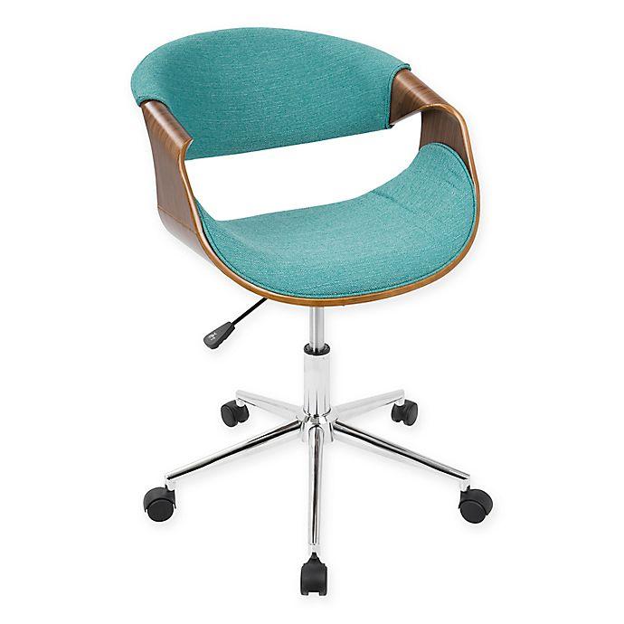 Lumisource Curvo Mid Century Modern Office Chair Bed Bath Beyond