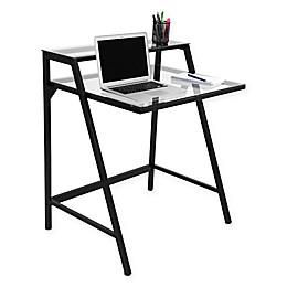 LumiSource 2-Tier Contemporary Desk