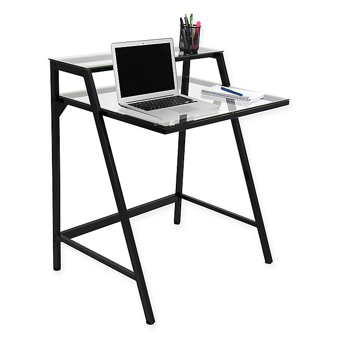 Alternate image 1 for LumiSource 2-Tier Contemporary Desk