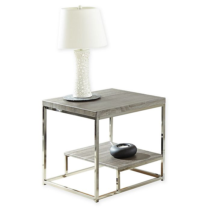 Alternate image 1 for Steve Silver Co. Lucia End Table in Grey
