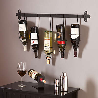 Southern Enterprises Almeria Wall Wine Rack