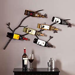 Southern Enterprise Brisbane Wall Wine Rack
