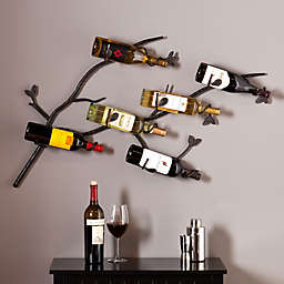 Southern Enterprise Brisbane Wall Wine Rack