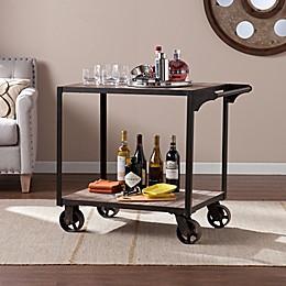 Southern Enterprises Dayne Bar Cart in Black