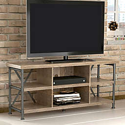 Bell'o Irondale TV Stand in Driftwood