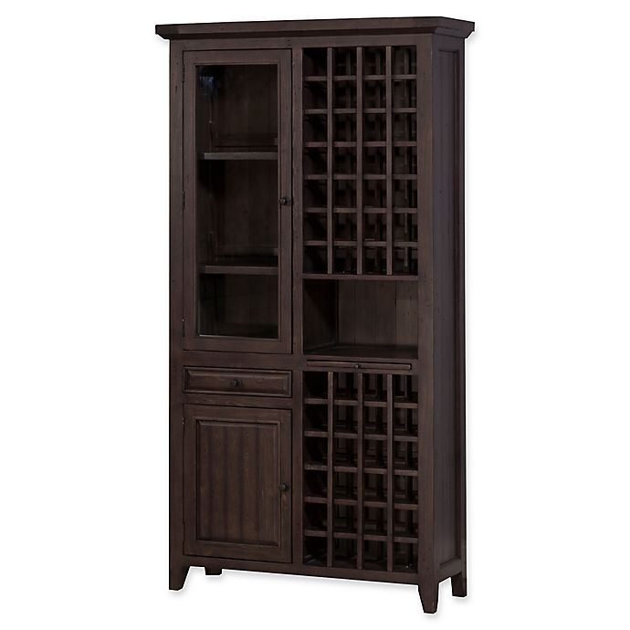 Hillsdale Tuscan Retreat 174 Tall Wine Storage Cabinet In