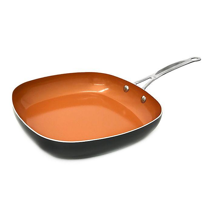 Alternate image 1 for Gotham™ Steel Ti-Cerama™ 9.5-Inch Nonstick Square Fry Pan