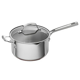 Emeril™ 4 qt. Stainless Steel and Copper Core Sauce Pan