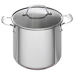 Emeril™ 8 qt. Stainless Steel and Copper Core Covered Stock Pot