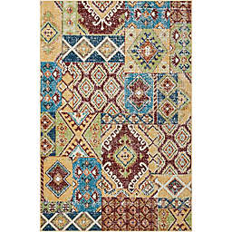 Nourison Aria Diamond Collage Area Rug