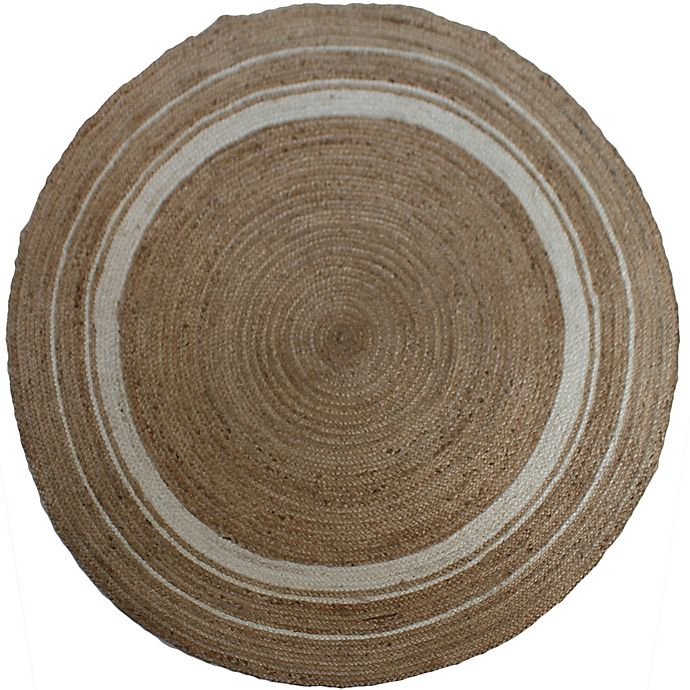 Alternate image 1 for Jute 96-Inch Round Rug in Natural