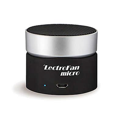LectroFan Micro Wireless Sound Machine in Black/Silver