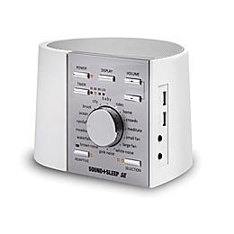 Sound+Sleep SE Sound Machine in White/Silver