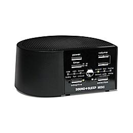 Sound+Sleep Mini Sound Machine in Black