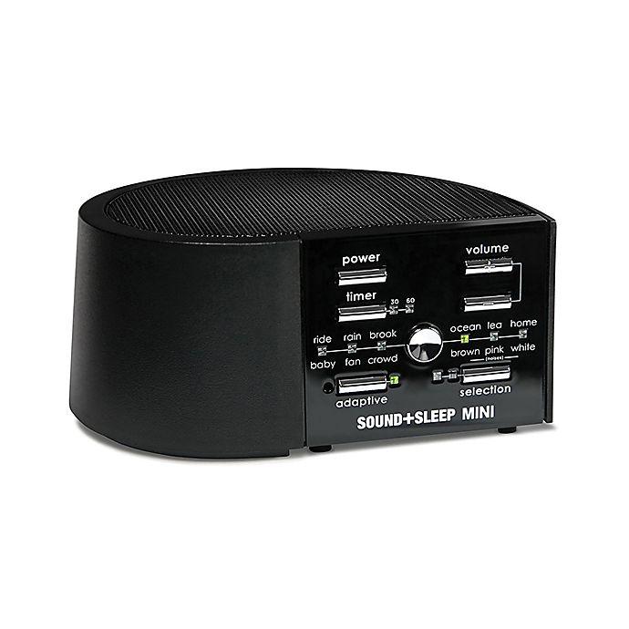 Alternate image 1 for Sound+Sleep Mini Sound Machine in Black