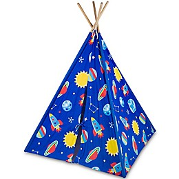 Olive Kids Out of This World Canvas Teepee in Blue