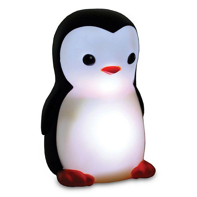 Alternate image 1 for Danny the Penguin Portable Night Light in Black/Off White