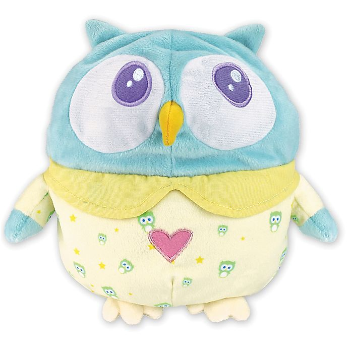 Alternate image 1 for OK to Wake Owl with Night Light and Music in Blue/Yellow