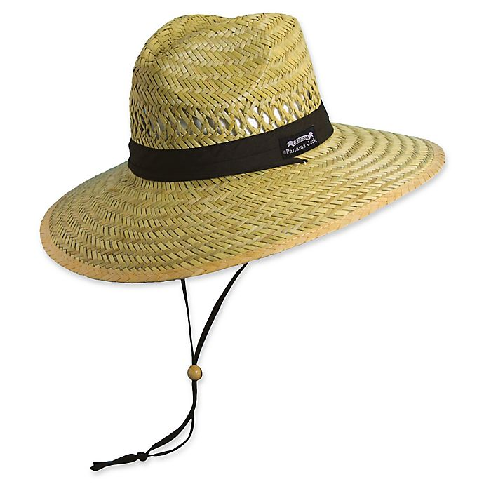 Panama Jack® Men s Safari Straw Hat with Cord  699b7e5b8f09