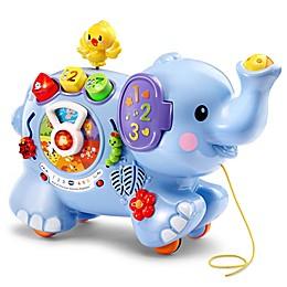 Busy Body Elephant in Blue