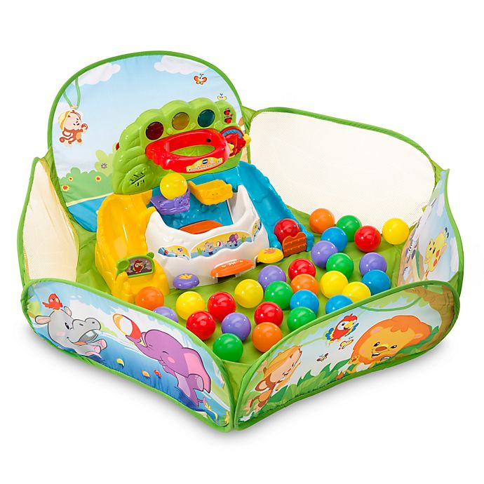 Alternate image 1 for VTech® Drop N Pop Ball Pit in Green