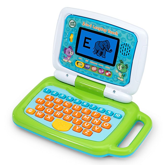 Alternate image 1 for Leapfrog® Leaptop™ Touch in Green