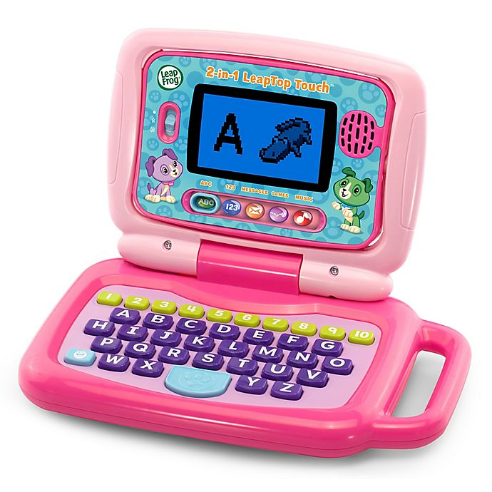Alternate image 1 for Leapfrog® Leaptop™ Touch in Pink
