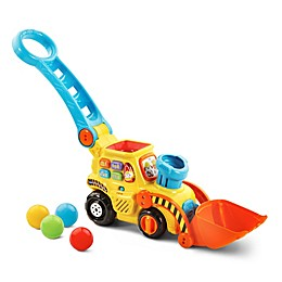 Push and Pop Bulldozer in Yellow