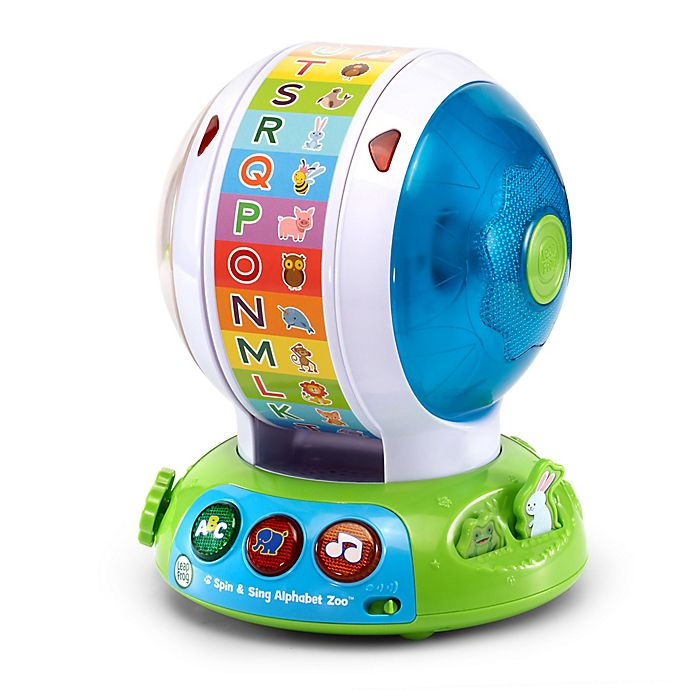 Alternate image 1 for VTech® Spin and Sing Alphabet Zoo Ball in Blue