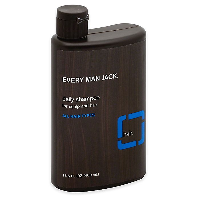 Alternate image 1 for Every Man Jack® 13.5 fl. oz. Daily Shampoo in Signature Mint