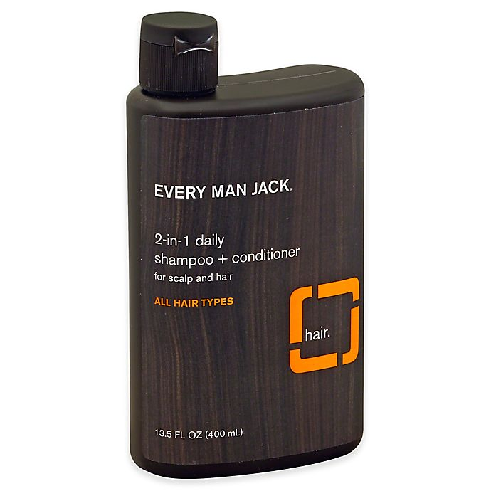 Alternate image 1 for Every Man Jack® 13.5 fl. oz. 2-in-1 Daily Shampoo + Conditioner in Citrus